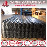 24 feuilles en acier ondulées enduites de toiture de zinc de Gi de mesure