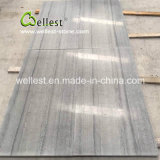 Blue Wood Vein Marble for Hotel Revêtement de sol / Revêtement mural en dalle