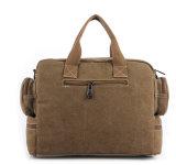 Saco do portátil do saco de ombro do saco da mensagem da lona do negócio