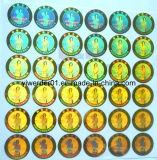 La gente las etiquetas de holograma de la imagen holográfica