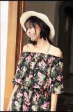 Einfacher dünner Sommer-Sleeveless Aufhängevorrichtung-Frauen-Kleider