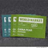 Personalizar la etiqueta etiqueta de papel autoadhesivas