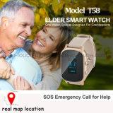 GPS elegante que sigue el teléfono del reloj para los ancianos/los cabritos/los adultos T58