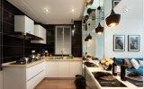 Оптовая торговля древесины Глянцевая кухня кабинет Yb1707020