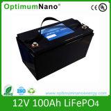 Ciclo de profunda 12V Bateria de iões de lítio de 100Ah para armazenamento de energia solar