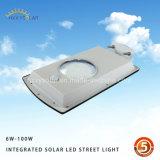 Integrierte im Freienfühler der Bewegungs-IP65 alle in einem Solar-LED-Straßenlaterne