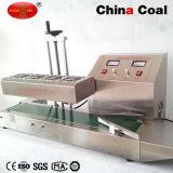 Continuo automático de la selladora de inducción de la máquina de sellado de aluminio