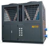 WiFi制御12.8kw Evi空気ソースヒートポンプ10.8 Kw74.4kw (monoblockのタイプ)のマンゴエネルギー