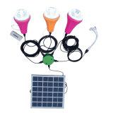Lumière rechargeable solaire 15W de lumière solaire de nécessaire de lumière de panneau solaire