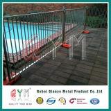 Painel provisório galvanizado mergulhado quente da cerca/painéis provisórios da cerca do metal