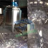 En roestvrij staal die Mengt de Tank van de Opslag koelen verwarmen