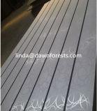 Farben-Melamin Slatwall Vorstand mit Artikel-Aluminium