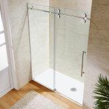 Porte facile de douche d'écran de douche d'installation de grande roue (2017 neuf)