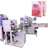 Tissue Pocket Paper Packaging Machine con Embossing Folding