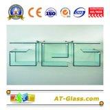 3 ~ 19mm Vidro Temperado De Vidro Temperado Usado Para Banheiro Vidro / Vidro De Janela / Móveis Painel De Vidro / Chuveiro