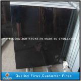 Absolute Poliershanxi-schwarze Granite für Fußboden-Fliesen, Countertops, Finanzanzeige