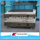 Linha de molde caixa do equipamento da elevada precisão de molde usada para a fundição