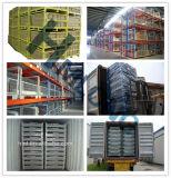 Gaiolas de aço dobradas do armazenamento do engranzamento do metal