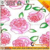 Diseño de flor rosa Imprimir Nonwoven Fabric