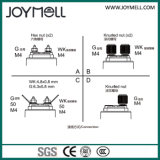 Sensor mecânico 0-10bar da pressão do nível de combustível do metal