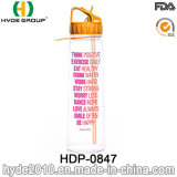900ml all'ingrosso BPA liberano la bottiglia di acqua di plastica di Tritan con paglia (HDP-0847)