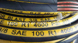 Flechten-hydraulischer Schlauch des LÄRM en-853 Draht-R1 eins