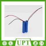 Circuito ricaricabile del litio Battery+Protection di Icr 18650 approvati 3.7V 2600mAh dei certificati di IEC 62133