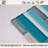 印刷は様式のBacksplashの台所壁のためのガラスモザイク・タイルを模造する