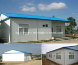 Popular moderno casa prefabricada de acero