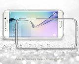 新しい到着の携帯電話のアクセサリのSamsung S7の電話カバーケースのための極めて薄い透過ゆとりTPUの箱