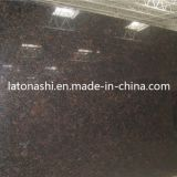 Natural poco costoso Tan Brown Granite Stone Tile Slab per Paving