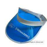 Protezione trasparente stampata abitudine promozionale della visiera del PVC Sun
