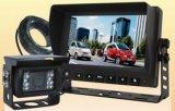Sistema da canaleta da câmera de vista traseira 2 com revisões alternativas da câmera para a ceifeira agricultural