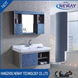ミラーが付いているシンプルな設計のステンレス鋼の浴室用キャビネット
