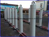 Cilindro telescópico hidráulico para o caminhão de Tipper na venda