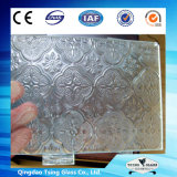 Vidro Tsing Vidro estampado com marcação CE/SGS/ Certificado