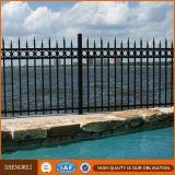 ホーム庭のための住宅の装飾用の錬鉄の塀モデル