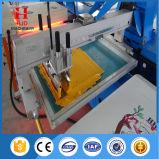 8 couleurs plein écran ovale Machine d'impression automatique