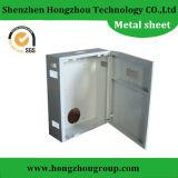 El metal de hoja enmarca la fabricación del rectángulo