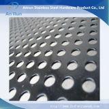 L'aluminium perforé feuille à trou rond pour tube