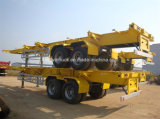 평상형 트레일러 Container Semi Trailer 40FT/Skelete Container Semi Trailer 3 Axles