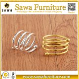 Anéis de guardanapo de cristal da venda por atacado nova do projeto para o casamento