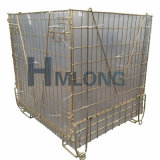 European Pet Bottles Storage Acier Wire Mesh Cages de sécurité