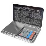 com a escala da jóia de Digitas da boa qualidade de exatidão elevada de máquina calculadora