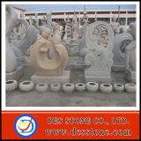 Resumen de los animales de piedra tallado de esculturas de piedra y tallar la piedra