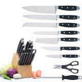 15ПК на базе комплекта ножей с блоком, двойной укрепить три заклепки ручки