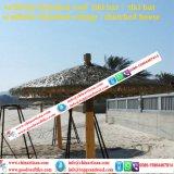 Ignifugés Fake Gazebo de simulation pour la vente de toiture en chaume synthétique