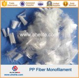 Fibra Fibra da fibra dos PP do Polypropylene para o cimento do concreto de Motar