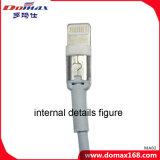 Cable de datos de la iluminación del USB del cargador de los accesorios del teléfono móvil para el iPhone 6