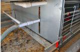 Cage de batterie de poulet pour la ferme avicole à vendre (type bâti de H)